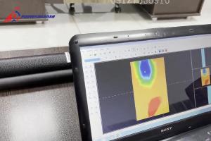 تست عملی و شبیهسازی پیرامون نحوه نمایش تصویر اسکن یک فلز درون حفره در برنامههایی نظیر ویژوالایزر